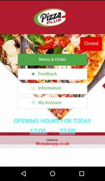 Pizza Plus Horsham poster