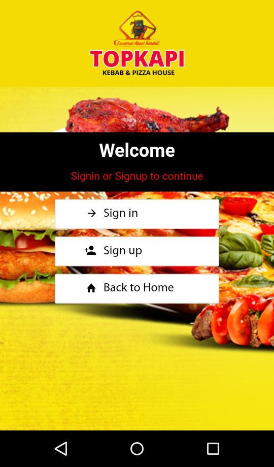Topkapi Kebab Worksop For Android Apk Download