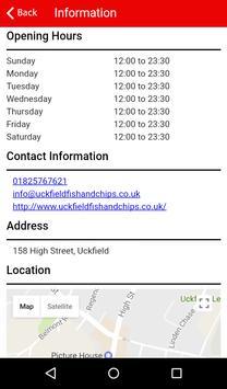 Uckfield Fish and Chips apk screenshot