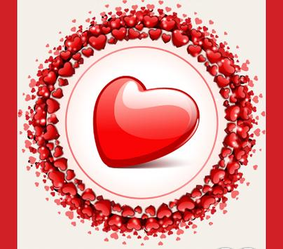 Valentine's Day- She loves me poster