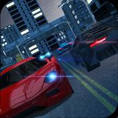 Night City Traffic Car Driving icon