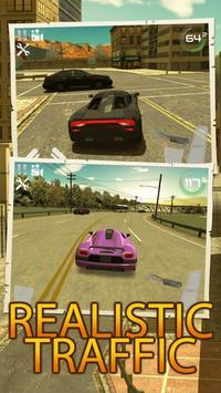 City Traffic Car Simulator screenshot 1