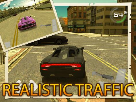 City Traffic Car Simulator apk screenshot