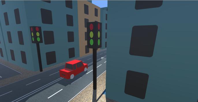 Real Cartoon City Driving screenshot 3