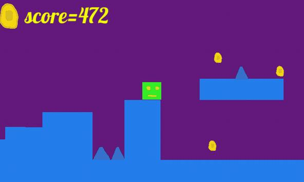 geometric cube jump screenshot 1