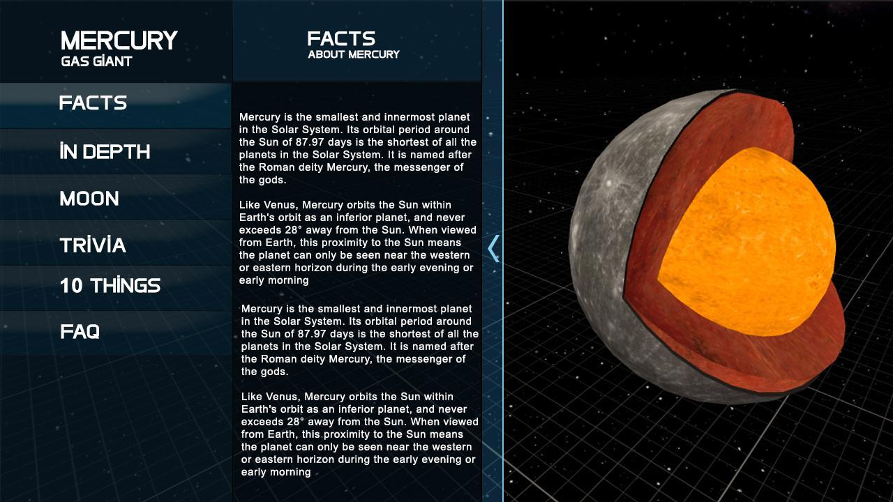 Solar system planet: 3D Universe Simulator for Android - APK