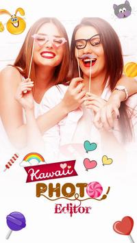 Kawaii Cute Filters & Stickers apk screenshot