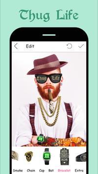 Thug Life Photo Sticker Maker apk screenshot