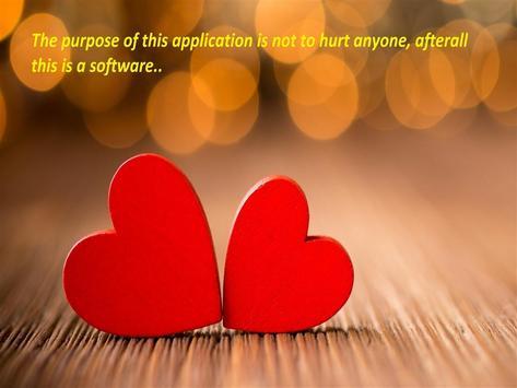 LoveCalculator apk screenshot