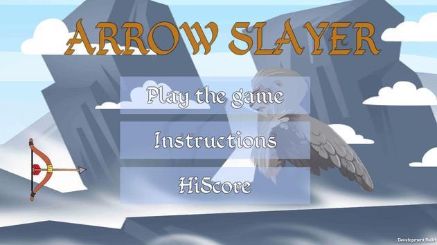 ARROW SLAYER poster
