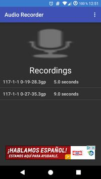 Audio Recorder poster