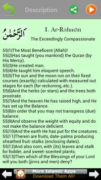 99 Names of Allah: Asma Al Husna (Islam) apk screenshot