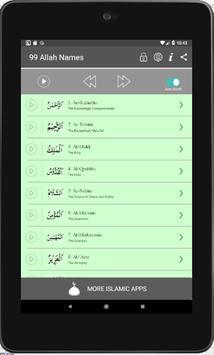 99 Names of Allah: Asma Al Husna, Free Audio Islam screenshot 5