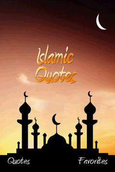 Free Islamic Quotes For Muslim poster