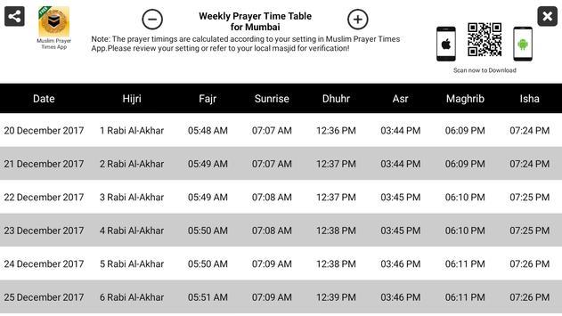 Islamic Prayer Times & Qibla apk screenshot