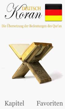 Quran German poster