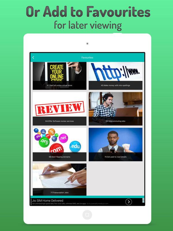 Make Money Free Work At Home Online Jobs For Android Apk Download