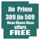 MyJio Prime free 309membership icon