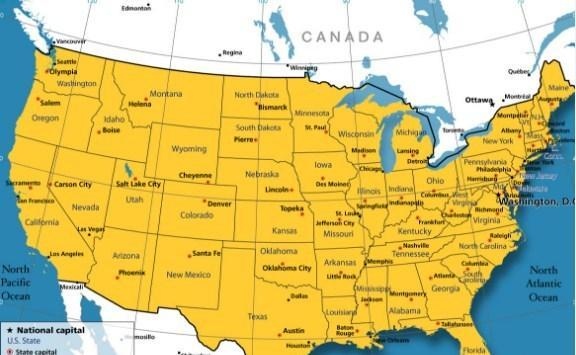 Easy to Read Map of US for Android - APK Download