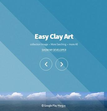 Easy Clay Art poster