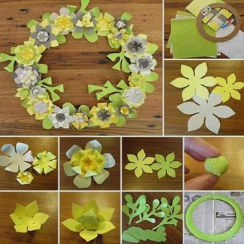 Easy create paper flower apk screenshot
