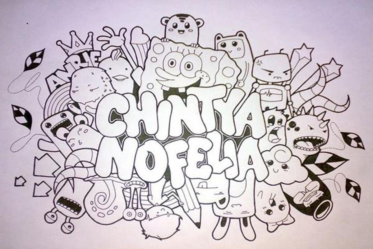 Seni Doodle Nama Mudah For Android Apk Download