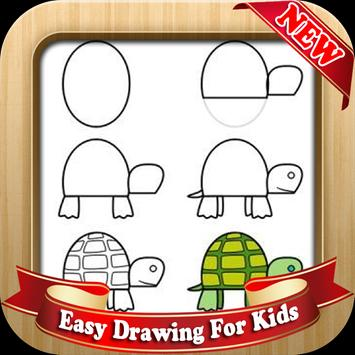 Easy Drawing For Kids poster