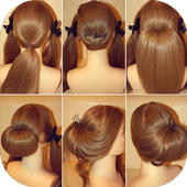 Easy Hairstyle Ideas icon