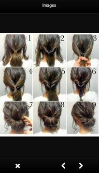 Easy Hairstyle Tutorials screenshot 1