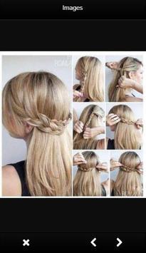 Easy Hairstyle Tutorials screenshot 2