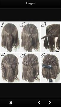 Easy Hairstyle Tutorials screenshot 3