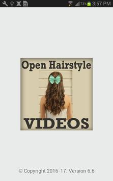 Easy Open Hairstyle VIDEOs poster