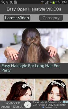 Easy Open Hairstyle VIDEOs screenshot 1