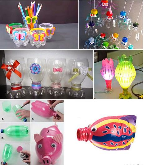 Easy Plastic Bottle Crafts Craft