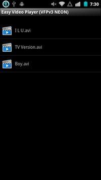Simpler Video Player (Android) apk screenshot