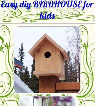 Easy diy BIRDHOUSE for kids screenshot 1