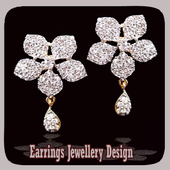 Earrings Jewellery Design icon