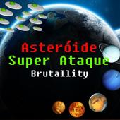 Asteroide Super Attack Free icon