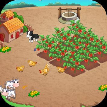เกมส์ปลูกผักในสวน poster
