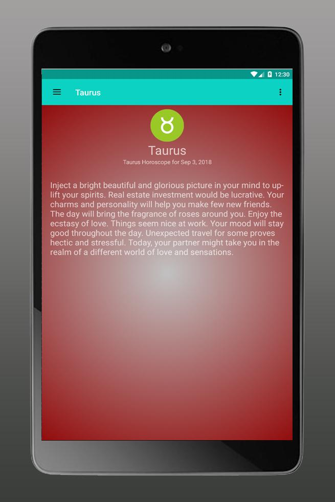 Taurus horoscope today, Tarot cards for Android - APK Download