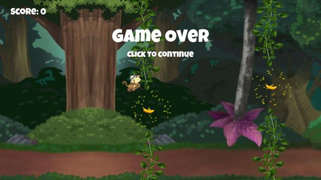 Flying Monkey 2D apk screenshot