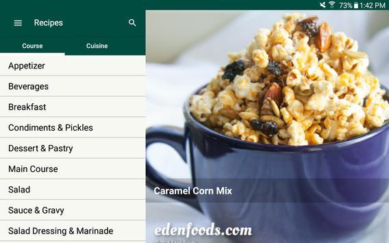 Eden Recipes apk screenshot