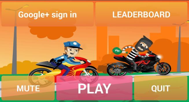 Police vs Thief : Moto apk screenshot