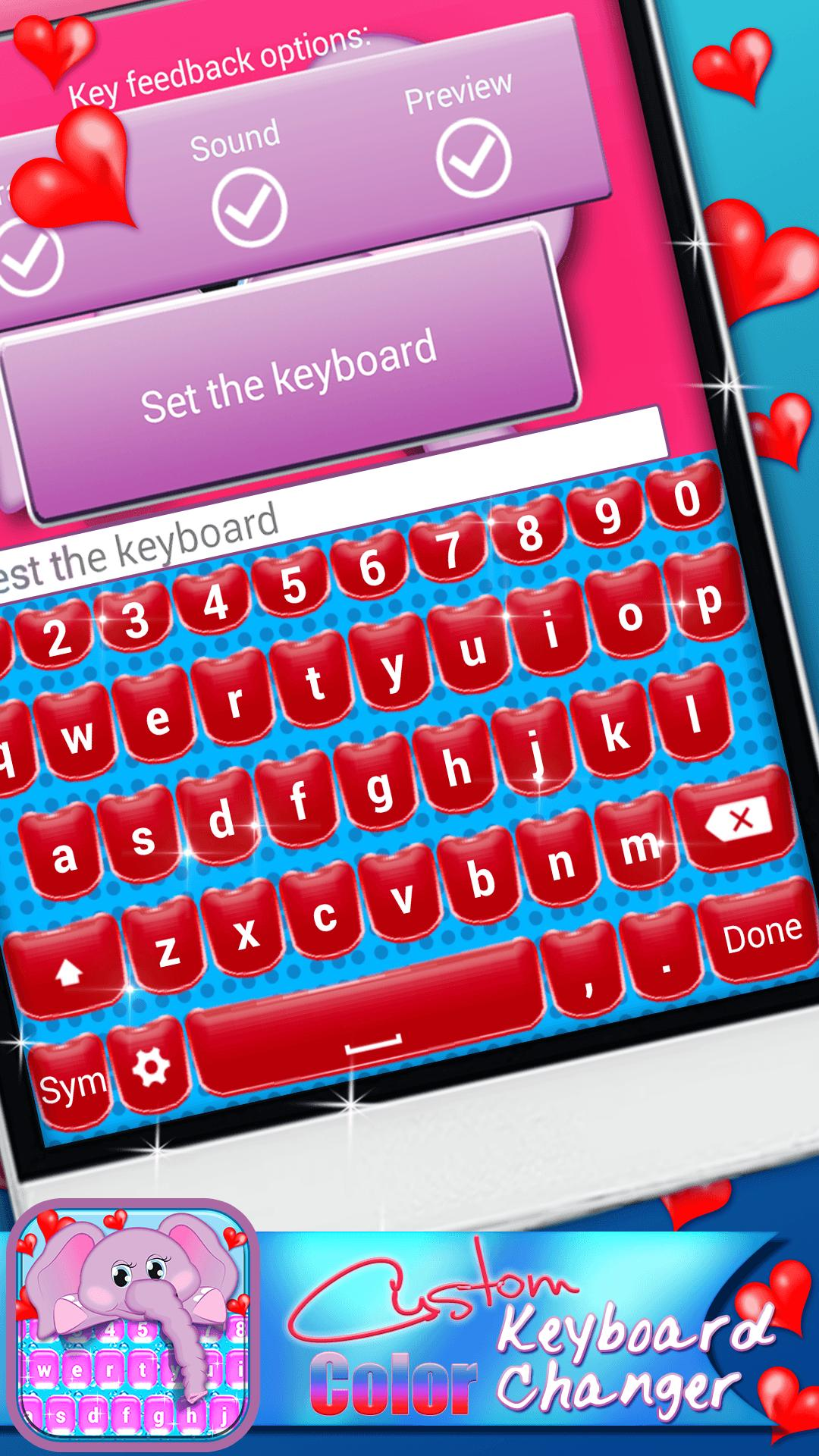 Custom Keyboard Color Changer for Android - APK Download
