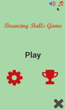 Bouncing Balls Game poster