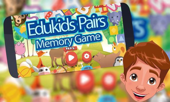 Edukids Pairs Memory Game poster