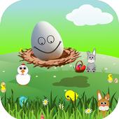 Egg plane icon
