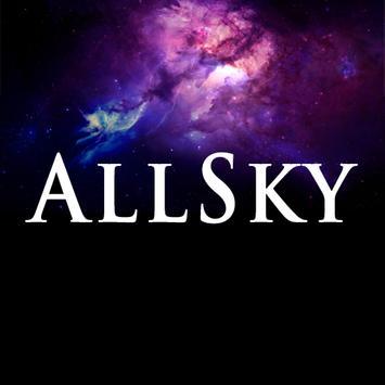 EGR AllSky Cardboard poster