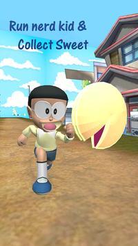 3D Nerd Boy Nobi Subway Run and Dash screenshot 2