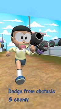3D Nerd Boy Nobi Subway Run and Dash screenshot 5